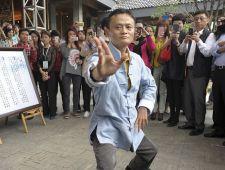 Jack Ma uči podjetnike taiji